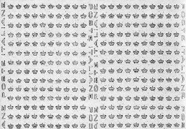 Filigrana lettere ibolli wiki - Due caratteri diversi ...